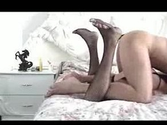 Gay crossdresser fucked hard from behind