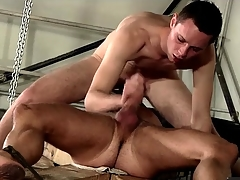 69 and sucking with a hot guy in bondage
