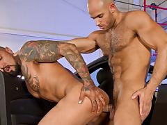 Motor Erotic, Part 2 XXX Video: Boomer Banks, Sean Zevran