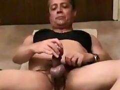 girlsy whips cock coupled with natter on plighted cums